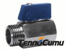 Genebre 2005 - Цельносварной редуцированный шаровой кран PN 63, DN 10-25;