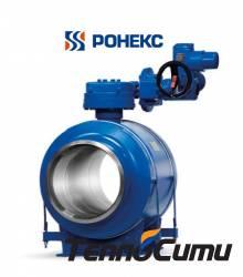 Ronex TM400-11-3 В сборе сэлектроприводом AUMA искользящей опорой