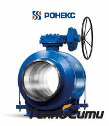 Ronex TM-600-11-2 - сварной полнопроходной кран (Россия)  BVDH-w/w