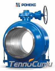Шаровой кран Ronex ТМ 1200-11-2 DN1200 PN40